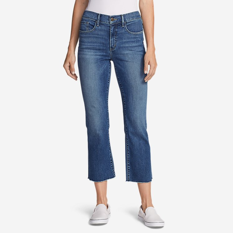 Women's Elysian Kick Flare Jeans - Slightly Curvy High-Rise large version