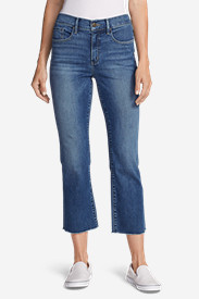 Women's Elysian Kick Flare Jeans - Slightly Curvy High-Rise