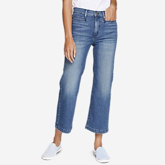 Thumbnail View 1 - Women's Elysian Wide-Leg High-Rise Jeans