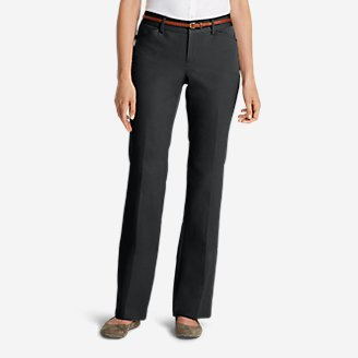 Thumbnail View 1 - Women's StayShape® Twill Trousers - Curvy