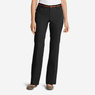 Thumbnail View 1 - Women's StayShape® Twill Trousers - Curvy