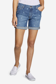 Women's Boyfriend Shorts - Stars