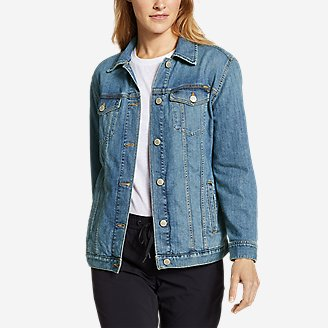 Eddie Bauer Women's Authentic Denim Jacket (Vintage)
