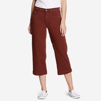 Thumbnail View 1 - Women's Elysian High Rise Wide-Leg Twill Jeans
