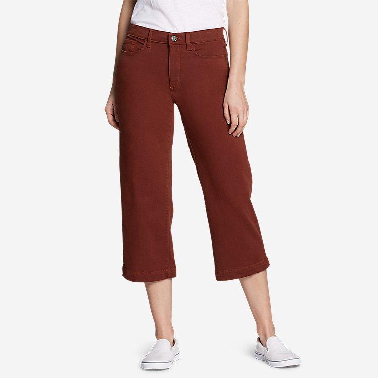 Women's Elysian High Rise Wide-Leg Twill Jeans large version