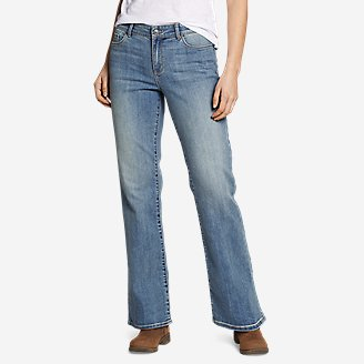 Thumbnail View 1 - Women's Voyager High-Rise Boot-Cut Jeans - Curvy