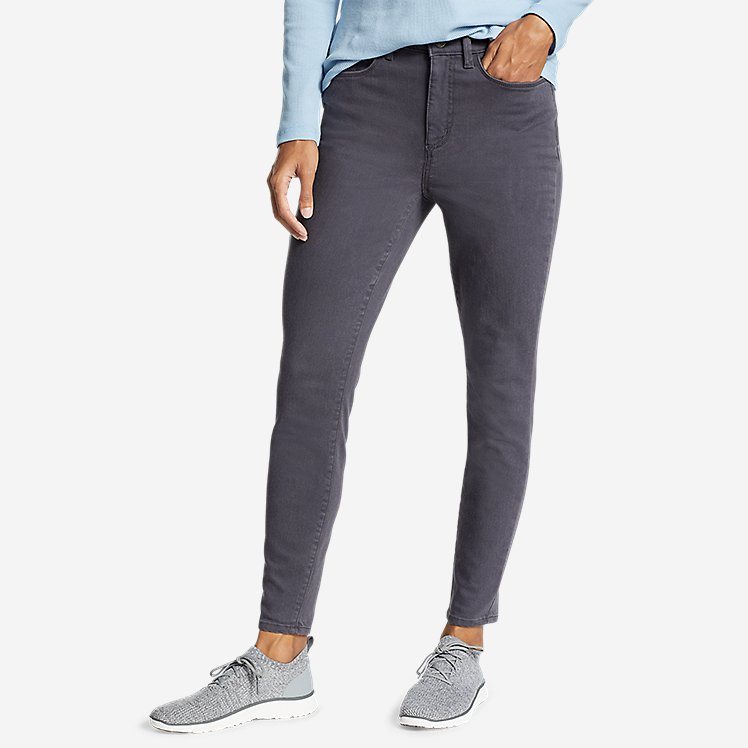 Women's Elysian High-Rise Skinny Twill Jeans large version