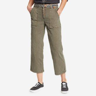 Thumbnail View 1 - Women's Marina High-Rise Wide-Leg Utility Pants