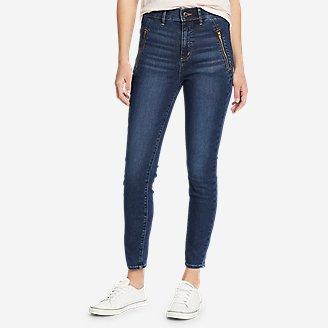 Thumbnail View 1 - Women's Elysian 1/4-Top Zip High-Rise Skinny Jeans