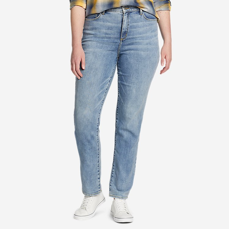 Women's Voyager High-Rise Jeans - Slim Straight large version