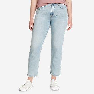Thumbnail View 1 - Women's Boyfriend High-Rise Ankle Jeans