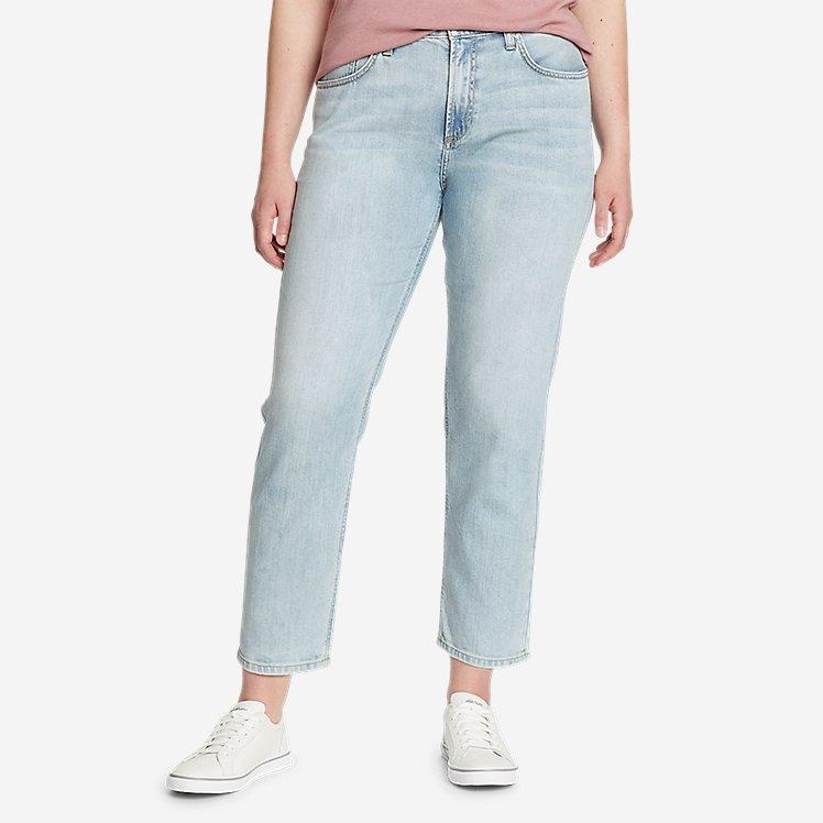 Women's Boyfriend High-Rise Ankle Jeans large version