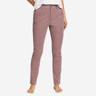 Thumbnail View 1 - Women's Voyager High-Rise Chino Slim Pants
