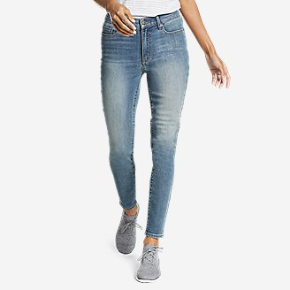 Thumbnail View 1 - Women's Voyager High-Rise Skinny Jeans - Slightly Curvy