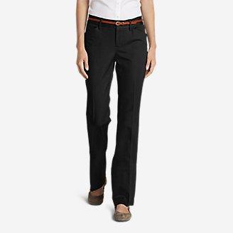 Thumbnail View 1 - Women's StayShape® Twill Trousers - Slightly Curvy