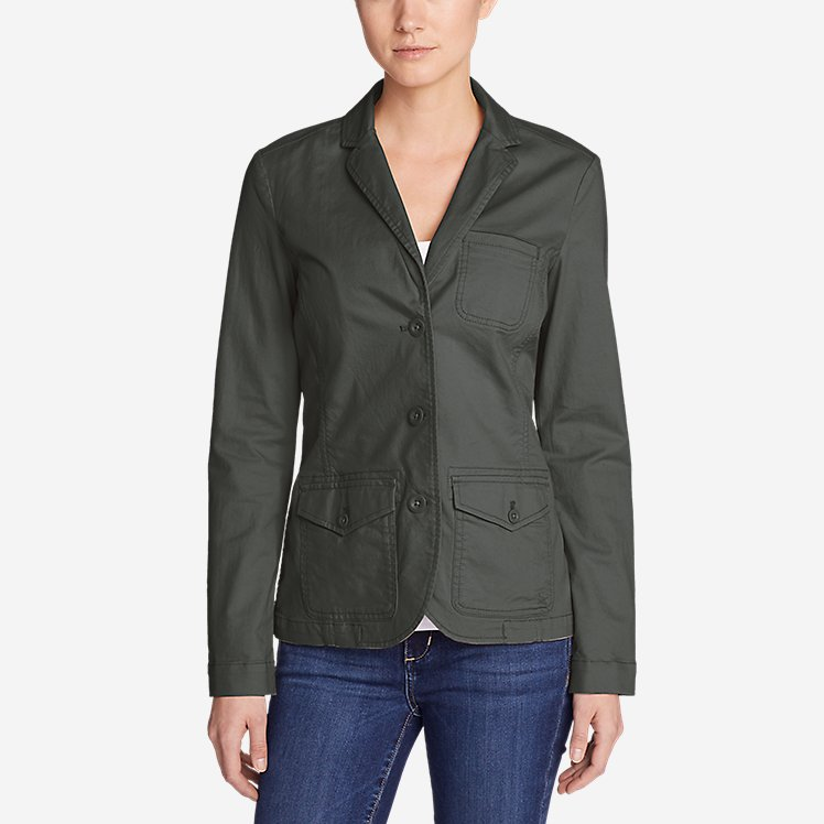 Women's Stretch Legend Wash Blazer large version