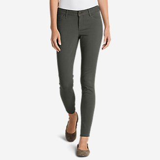 Thumbnail View 1 - Women's Elysian Twill Skinny Jeans - Slightly Curvy
