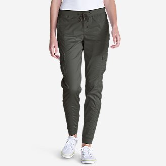 Thumbnail View 1 - Women's Kick Back Twill Jogger Pants
