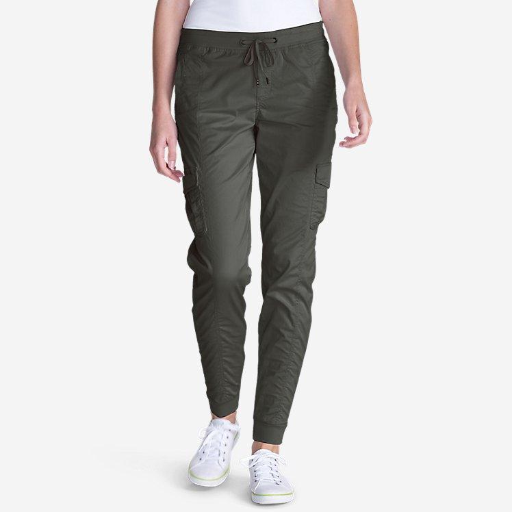 Women's Kick Back Twill Jogger Pants large version