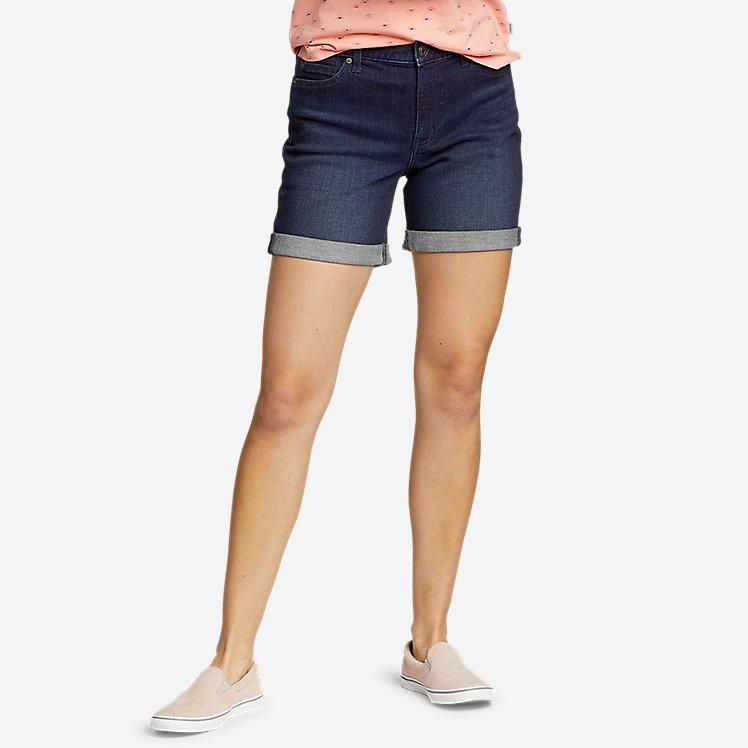 Women's Boyfriend Denim Shorts large version