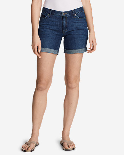 Eddie Bauer Women's Boyfriend Denim Shorts