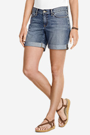 Women's Boyfriend Denim Shorts