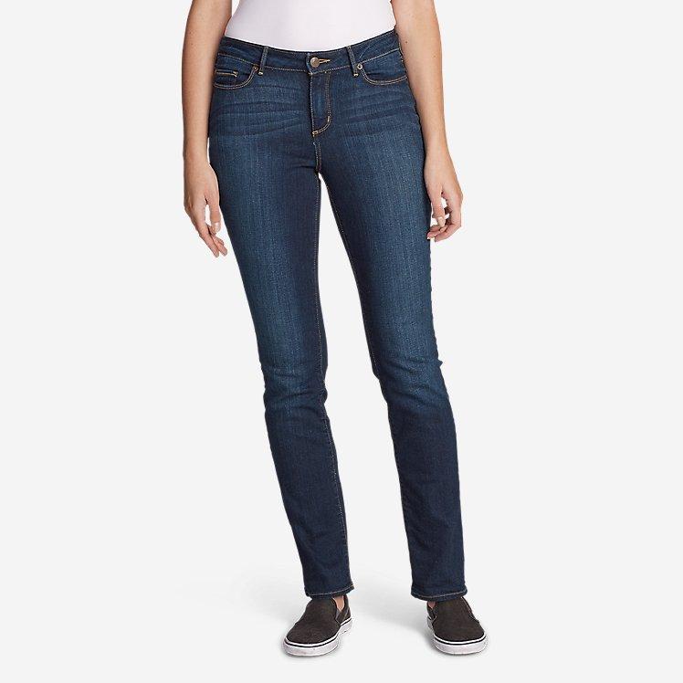 Women's StayShape® Straight Leg Jeans - Curvy large version