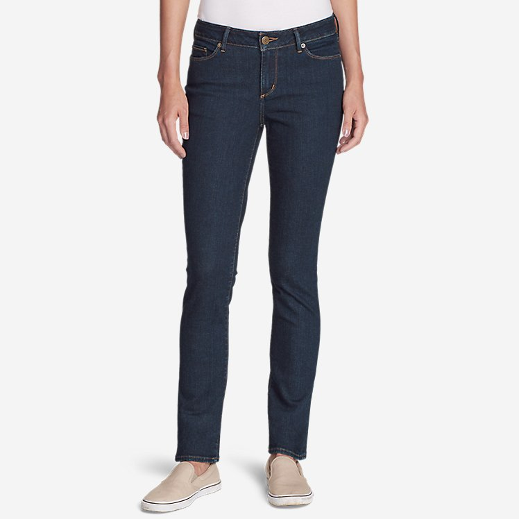 Women's Truly Straight Jeans - Straight Leg large version