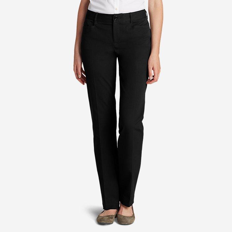Curvy StayShape® Stretch Twill Pants large version