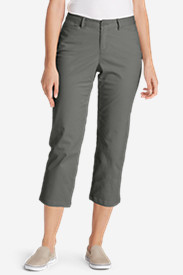 Women's Stretch Legend Wash Cropped Pants - Curvy Fit