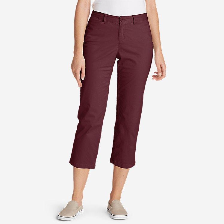 Women's Stretch Legend Wash Cropped Pants - Curvy Fit large version