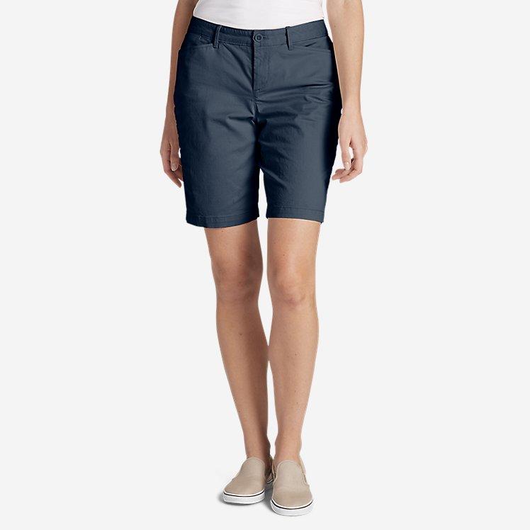 "Women's Stretch Legend Wash Shorts - Curvy Fit, 10"" large version"