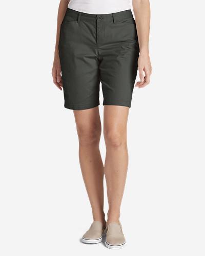 Eddie Bauer Women's Legend Wash Stretch Shorts - Curvy Fit
