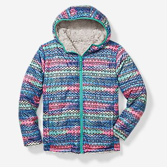 Thumbnail View 1 - Girls' Rock Creek Reversible Jacket