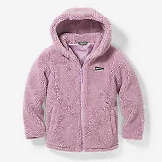 Thumbnail View 1 - Girls' Quest Sherpa Fleece Jacket