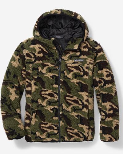 Boys' Quest Sherpa Fleece Jacket thumbnail