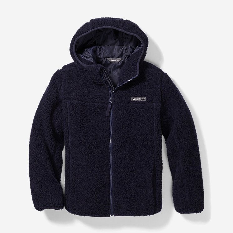 Boys' Quest Sherpa Fleece Jacket large version