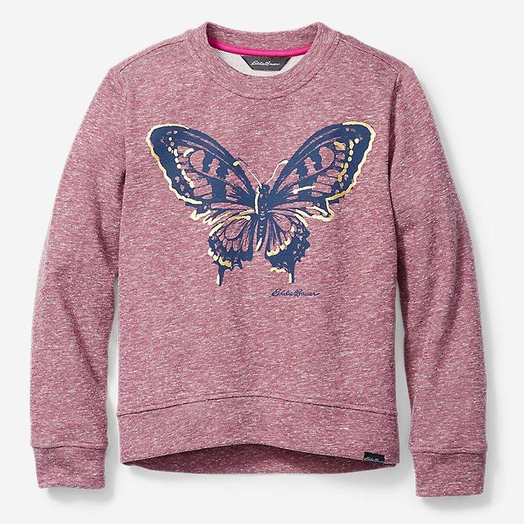 Girls' Camp Fleece French Terry Sweatshirt large version