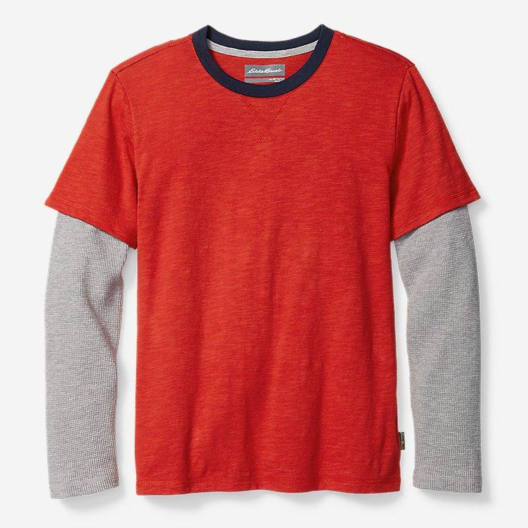 Boys' Basin Long-Thermal-Sleeve T-Shirt large version