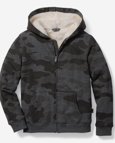 Boys' Camp Fleece Sherpa-Lined Hoodie thumbnail