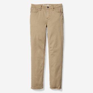 Thumbnail View 1 - Boys' Five-Pocket Knit Flex Jeans