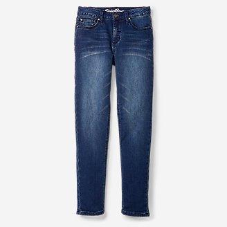Thumbnail View 1 - Boys' Knit Flex Jeans - Slim Straight