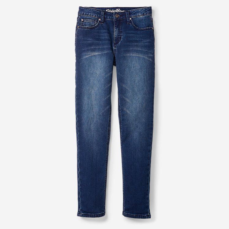 Boys' Knit Flex Jeans - Slim Straight large version