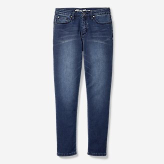 Thumbnail View 1 - Boys' Knit Flex Jeans - Relaxed