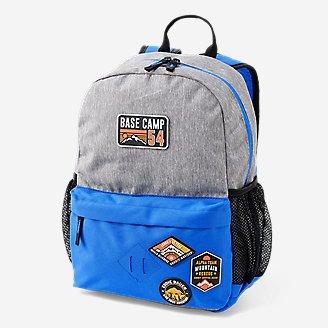 Eddie Bauer Kids Adventurer Backpack (Small, Gray Htr)