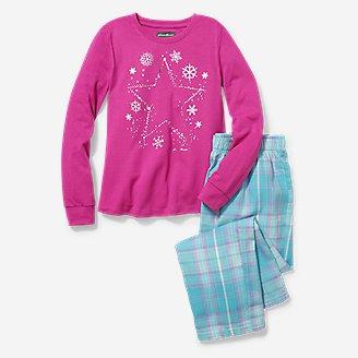 Thumbnail View 1 - Girls' Stine's Favorite Flannel Sleep Set