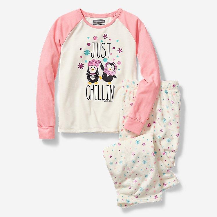 Girls' Quest Plush Fleece Sleep Set large version