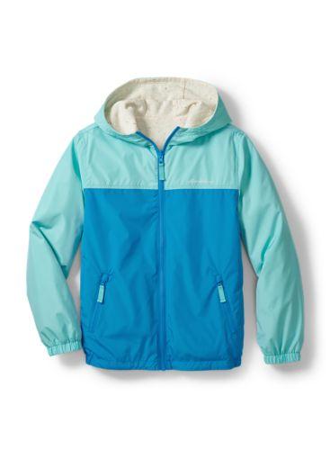 Eddie Bauer Boys Youth Reversible Hooded Jacket