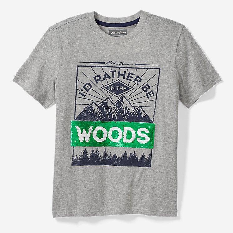 Boys' Spring Flip Sequin Short-Sleeve T-Shirt large version