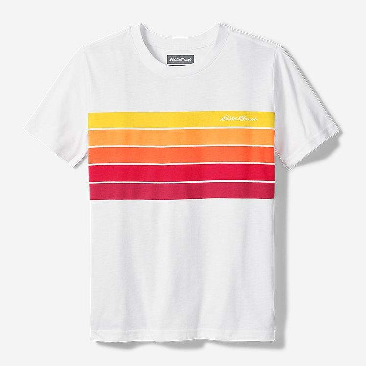Boys' Leeward Short-Sleeve T-Shirt - Chest Stripe large version